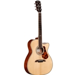 Alvarez MF60CEOM Small Body Acoustic-Electric Guitar with Hardshell