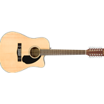 Fender CD-60SCE 12 String Acoustic-Electric Guitar